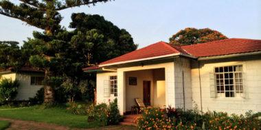Marangu Hotel, Außenbereich