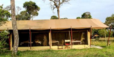 Serengeti Savannah Camps, Essenszelt