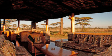 Ndutu Safari Lodge, Lounge