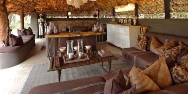 Grumeti River Camp, Lounge