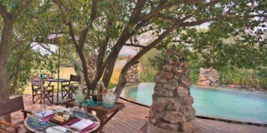 Grumeti River Camp, Poolbereich