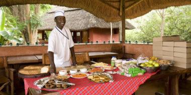 Ngorongoro Farm House, Frühstück
