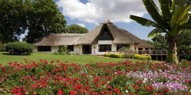 Ngorongoro Farm House, Außenansicht