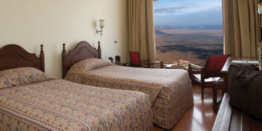 Ngorongoro Wildlife Lodge, Doppelzimmer