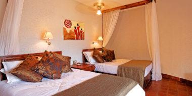 Tarangire Sopa Lodge, Schlafzimmer