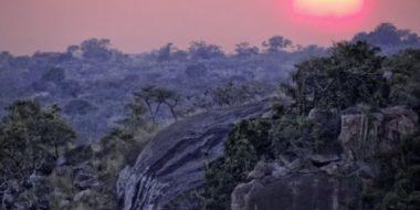 Serengeti Migration Camp, Sonnenuntergang in der Serengeti