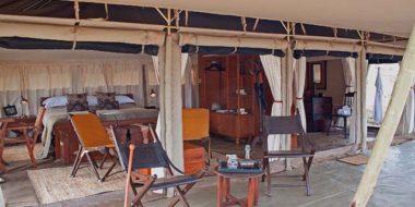 Serengeti Pioneer Camp, Zelteinrichtung