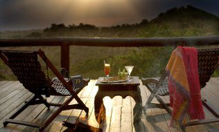 Serengeti Migration Camp, Terrasse