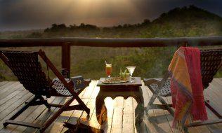 Serengeti Migration Camp, Terrasse