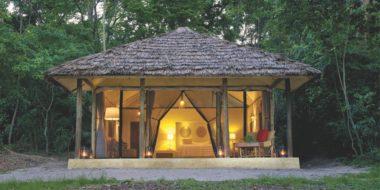 Rubondo Island Camp, Zelt von Außen
