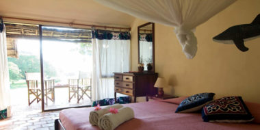 Mafia Island Lodge, Schlafzimmer
