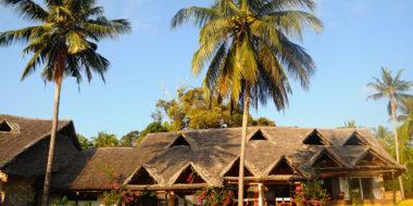 Mafia Island Lodge, Außenansicht