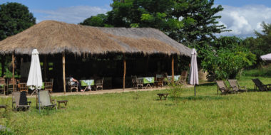 Udzungwa Forest Tented Camp, Speisezelt
