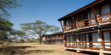Lobo Wildlife Lodge, Außenbereich
