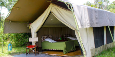 Serengeti Savannah Camps, Wohnzelt