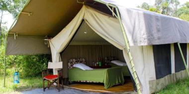 Serengeti Savannah Camps, Wohnzelt