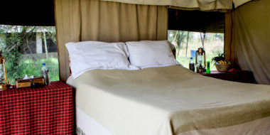 Serengeti Savannah Camps, Doppelbett