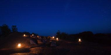 Kusini Safari Camp, Sternen-Beobachtung